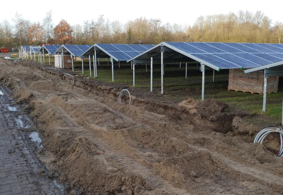 zonnepark wetterskip